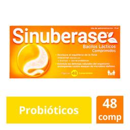 Sanofi Aventis Sinuberase 48 ComprimidosBacillus clausii 2 g