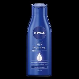 Nivea Crema Corporal Milk Nutritiva Piel Extra Seca
