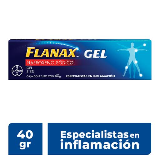 Flanax Bayer Tópico 40 G Gel Tubo Naproxeno 5.5 G