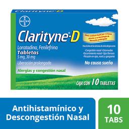 Clarityne Tabletas Antialérgico