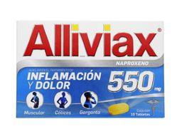 Alliviax Naproxeno (550 mg)