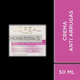 Loreal Paris-Hidra Total 5 Crema Antiarrugas Hidra Total