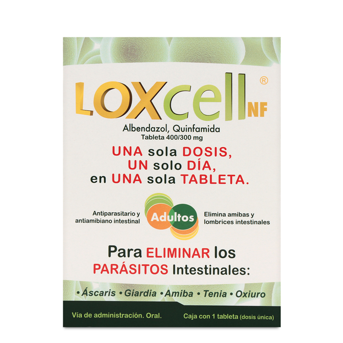 Comprar Loxcell (400mg/300mg)
