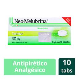 Neo Melubrina Sanofi Aventis 10 Tabletas Caja