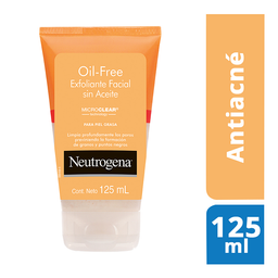 Exfoliante Facial Neutrogena Oil Free Sin Aceite 124 Ml
