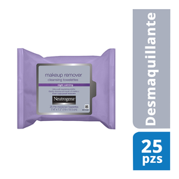 Toallitas Desmaquillantes Neutrogena Night Calming 25 Piezas
