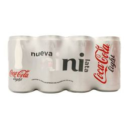 Coca-cola Refresco Light 8-pack Lata