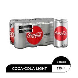 Coca-Cola Light Refresco 8 Pack Lata