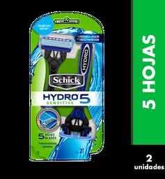 Schick Rastrillos Hydro5 Desechable 2Pz