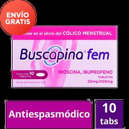 Buscapina Fem 400/ 20 Mg Colicos Menstruales
