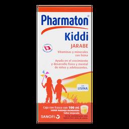 Pharmaton Sanofi Aventis Kiddi Sabor Naranja - Mandarina