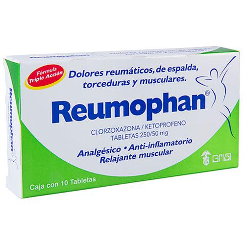 Comprar Reumophan Clorzoxazona Y Ketoprofeno (250/50 Mg)