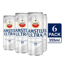 AMSTEL ULTRA cerveza en lata