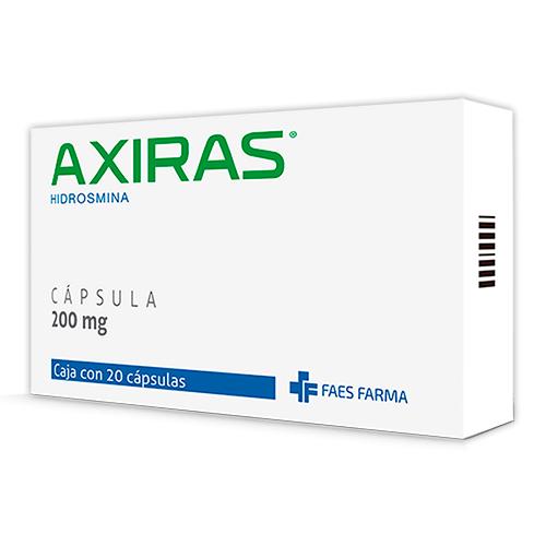 Comprar Mit Farma Axiras 20 Cápsula(s) Caja Hidrosmina 200 mg