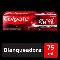 Colgate Pasta Dental Luminous White Carbón Activado 75 Ml