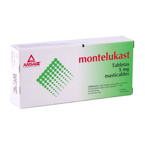 Comprar Montelukast 5 Mg Tab C20 Gi