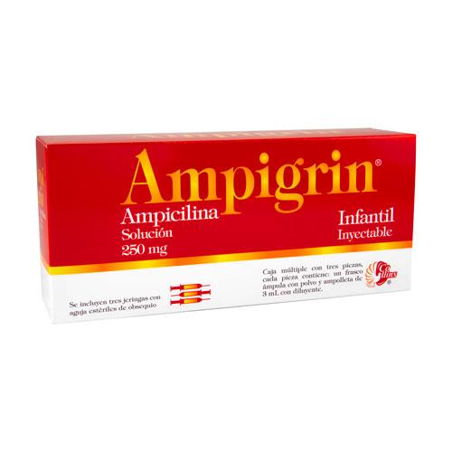 Comprar AMPICILINA/MET/GUA/CLO IN 3AMP+3JER