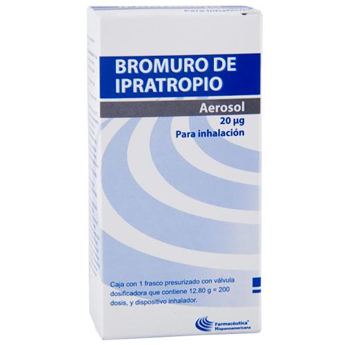 Comprar Hipromelosa Ipratropio 20Mcg 200 Dosis