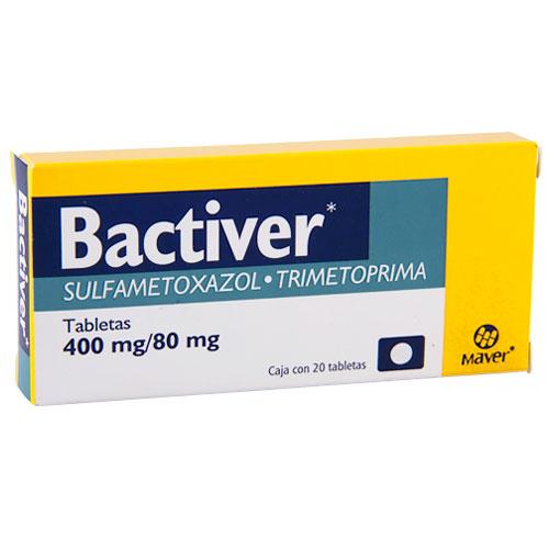 Comprar Bactiver (400/80 Mg)