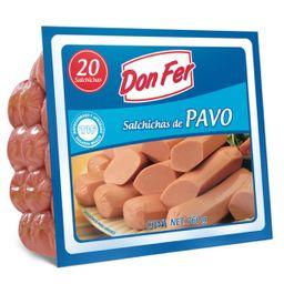 Salchicha Don Fer de Pavo