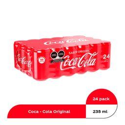 Coca-Cola Original Refresco En Mini Lata De