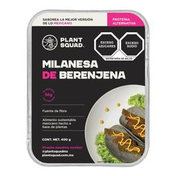 Plant Squad milanesa de berenjena