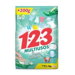 Detergente 123 Aloe Vera Multiusos Bolsa