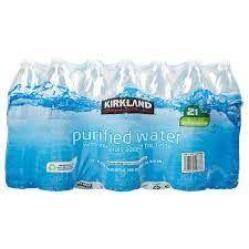 Kirkland Signature Purified water