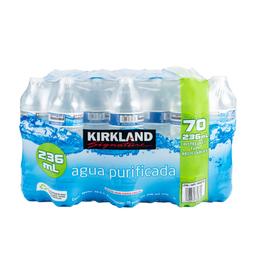 Costco Agua Purificada 70/236 Ml Kirkland Signature