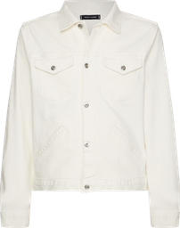 Chaqueta Tommy Hilfiger Icons Trucker Jkt Off White