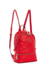 Mochila Para Mujer Color Rojo New Wave Backpack