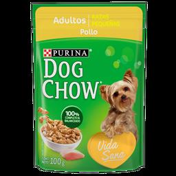 Dog Chow Alimento Húmedo - Adulto Raza Pequeña Pollo 100 g x 6