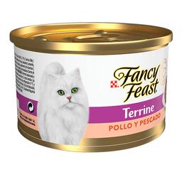 Alimento Húmedo Fancy Feast Terrine Pollo y Pescado 85 g