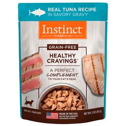 Alimento Húmedo Instinct Healthy Cravings Sobre Atún Gato 85 g