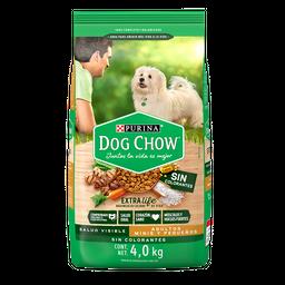 Croquetas Dog Chow Adulto Sin Colorantes Minis y Pequeños 4 Kg