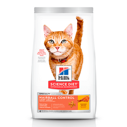 Croquetas Hill's Science Diet Hairball Control Light 3.2 Kg
