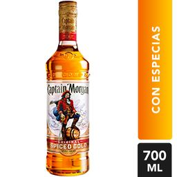 Ron Captain Morgan Con Especias Botella 700 mL