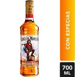 Ron Captain Morgan Con Especias Botella 700 mL