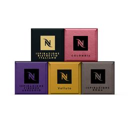 50 Und. Pack Cápsula de Café Nespresso Original Best Sellers