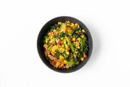Bowl de Verduras al Wok