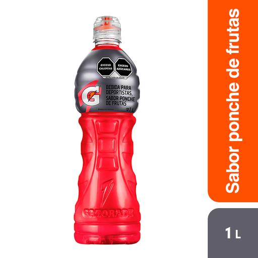 GatoraDe Bebida Hidratante  Ponche De Frutas