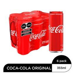 Coca-Cola Original Del Valle Coca Cola Refresco X 6
