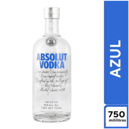 Absolut Azul 750 ml