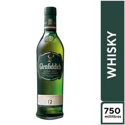 Glenfidich 12 Años 750 ml