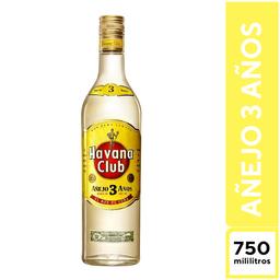 Havana Club Añejo 3 Años 750 ml