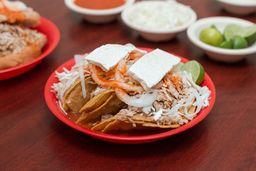 Tacos con Papa Panela y Carne