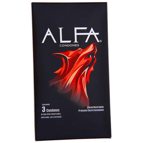 Comprar Condón Texturizado Con Retardante Alfa