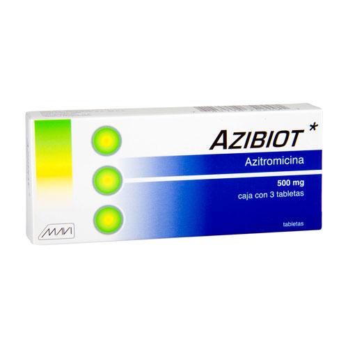 Comprar Azibiot Azitromicina (500 mg)