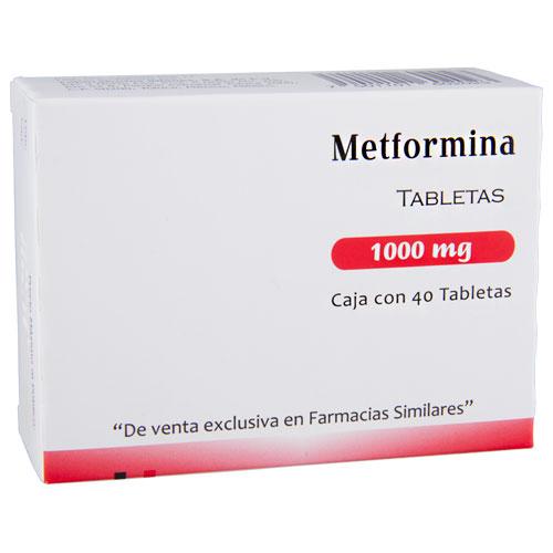 Comprar Metformina 1000 Mg