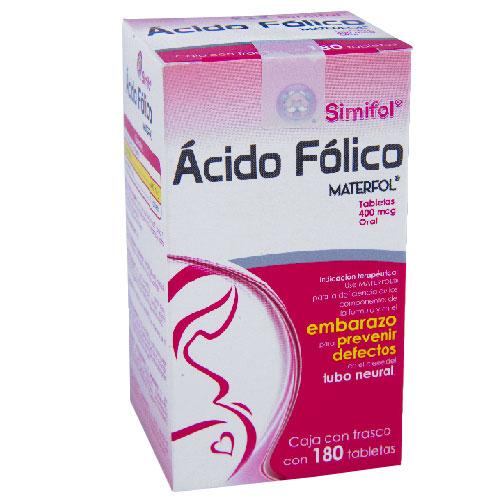 Comprar Simifol Tabletas Ácido Fólico (400mcg)